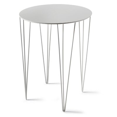 Chele Bistrot Table Color: Signal White