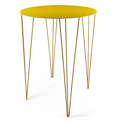 Chele Bistrot Table Finish Honey Yellow