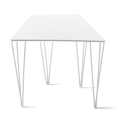 Chele Coffee Table Size: 11.75 H x 14.13 W x 11 D, Color: Signal White