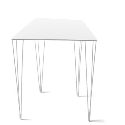 Chele Coffee Table Finish: Signal White, Size: 19.63 H x 17.25 W x 14.13 D