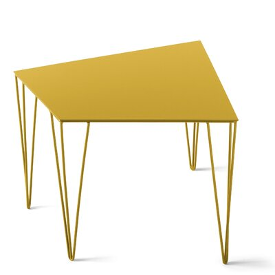 Chele Coffee Table Color: Traffic Yellow