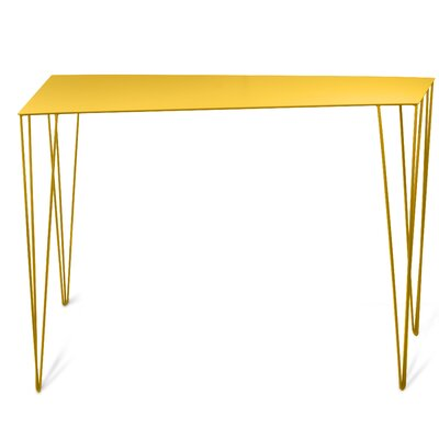 Chele Console Table Finish: Honey Yellow