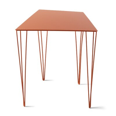 Chele Coffee Table Size: 19.63 H x 17.25 W x 14.13 D, Color: Traffic Orange