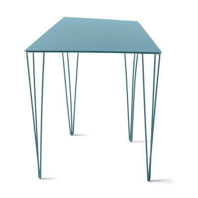 Chele Coffee Table Size: 19.63 H x 17.25 W x 14.13 D, Color: Turquoise Blue