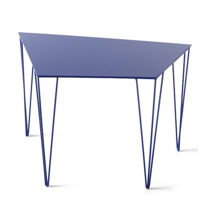 Chele Coffee Table Size: 15.63 H x 23.13 W x 14.88 D, Color: Ultramarine Blue