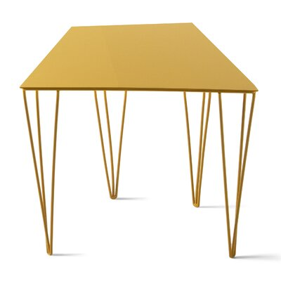 Chele Coffee Table Size: 11.75 H x 14.13 W x 11 D, Color: Traffic Yellow