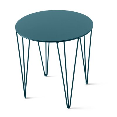Chele Coffee Table Size: 13.75 H x 13.75 W x 13.75 D, Color: Turquoise Blue