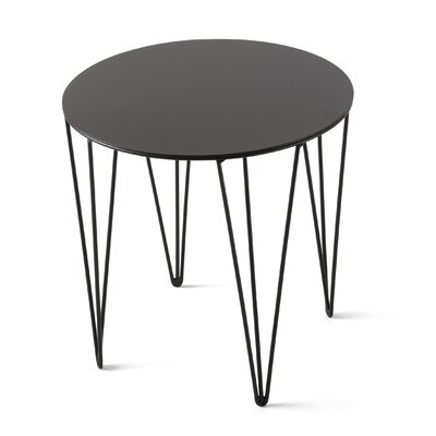 Chele Coffee Table Size: 13.75 H x 13.75 W x 13.75 D, Color: Jet Black