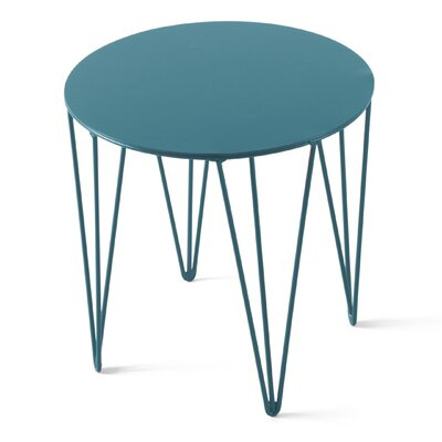 Chele Coffee Table Size: 11.75 H x 11.75 W x 11.75 D, Color: Turquoise Blue