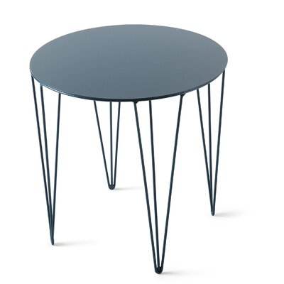 Chele Coffee Table Size: 15.63 H x 15.63 W x 15.63 D, Finish: Ocean Blue