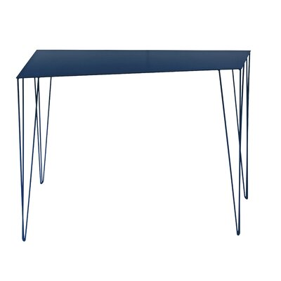 Chele Console Table Finish: Steel Blue