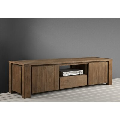 Knightsbridge 71 TV Stand Color: Natural