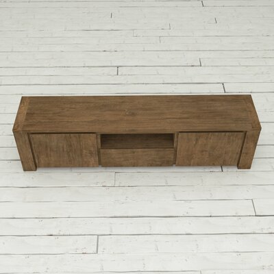 Knightsbridge 71 TV Stand Color: Dark Wood