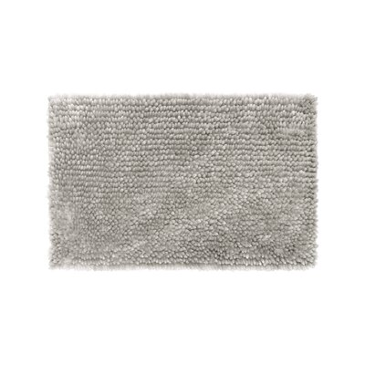 Abbie Chenille Bath Rug Size: 21 W x 34 L, Color: Light Gray