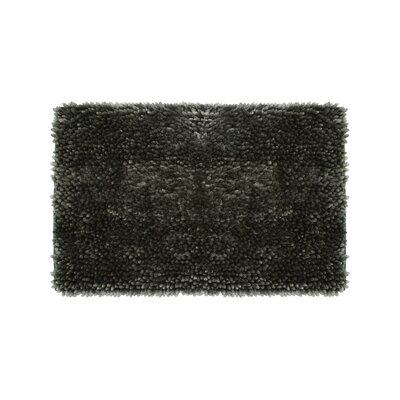 Abbie Chenille Bath Rug Size: 27 W x 45 L, Color: Charcoal