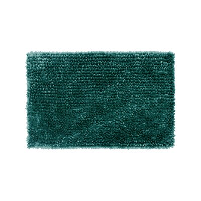Abbie Chenille Bath Rug Size: 17 W x 24 L, Color: Harbor Teal