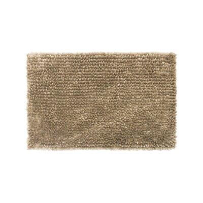 Abbie Chenille Bath Rug Color: Linen, Size: 17 W x 24 L