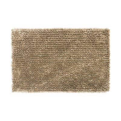 Abbie Chenille Bath Rug Color: Linen, Size: 21 W x 34 L
