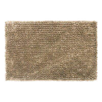 Abbie Chenille Bath Rug Size: 17 W x 24 L, Color: Linen