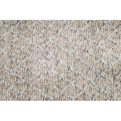 Soft Alternative Hand-Woven Gray Area Rug Rug Size: Rectangle 8 x 10