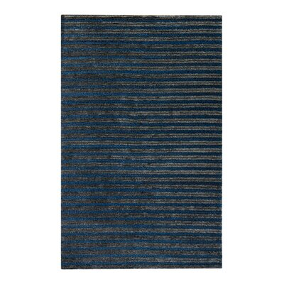 Tufted Hand-Woven Blue/Gray Area Rug Rug Size: Rectangle 5 x 8