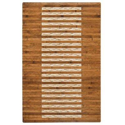 Bryan Bamboo Slat Bath Rug Rug Size: 20 W x 32 L