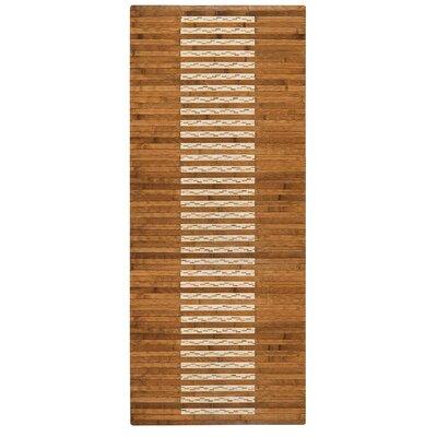 Bryan Bamboo Slat Bath Rug Rug Size: 20 W x 48 L