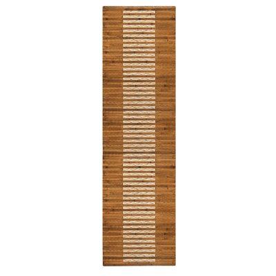 Bryan Bamboo Slat Bath Rug Rug Size: 20 W x 72 L