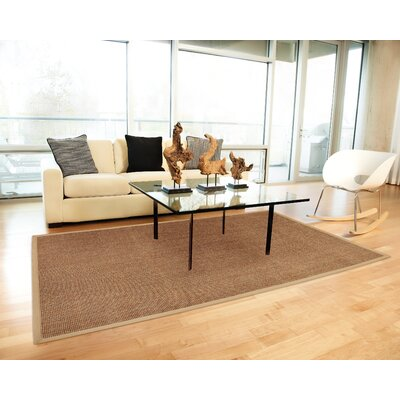 Tweedbrook Brown Area Rug Rug Size: 9 x 12