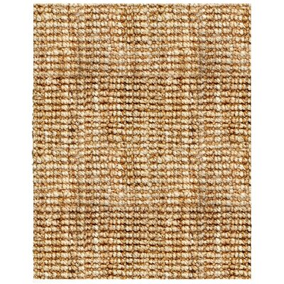 Helvetia Hand-Woven Brown Area Rug Rug Size: Rectangle 8 x 10