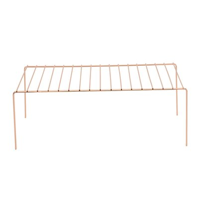 Shelving Rack Finish: Copper, Size: Large REBR4657 43475415
