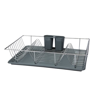 Dish Rack Finish: Gray