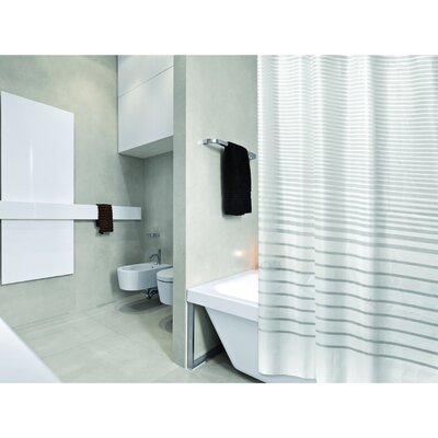 PEVA Stripe Design Shower Curtain