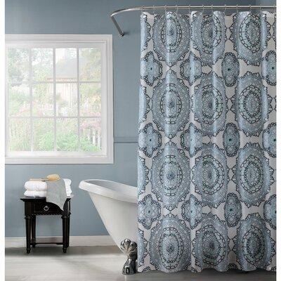 Mandala Design PEVA Shower Curtain
