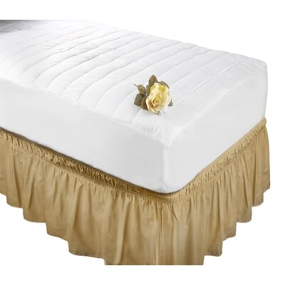 Antibacterial Polyester Mattress Pad Size: Twin