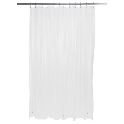 Kourtney PVC Shower Liner Color: Frost