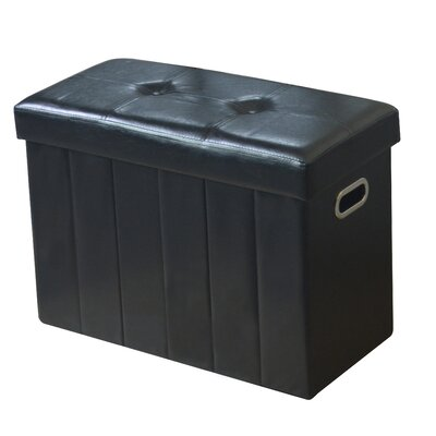 Lindsey Collapsible Storage Ottoman