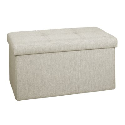 Tindall Storage Ottoman Upholstery: Ivory