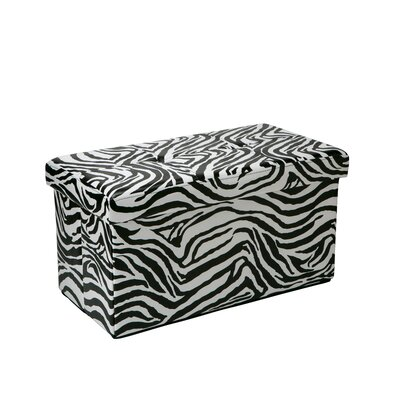 Makhi Double Folding Storage Ottoman