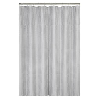 Caesar Weave Shower Curtain Color: Gray