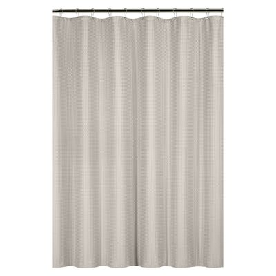Caesar Weave Shower Curtain Color: Taupe