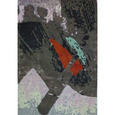 Susanna Hand-Tufted Gray Area Rug Rug Size: 5 x 73