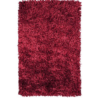 Susie Wine Area Rug Rug Size: 75 x 96