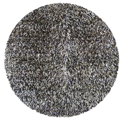 Susie Charcoal Area Rug Rug Size: Round 8