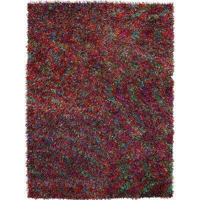 Tina Rainbow Area Rug Rug Size: 37 x 55