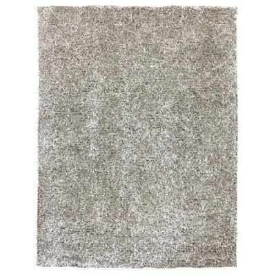 Starburst Silver Area Rug Rug Size: 5 x 73