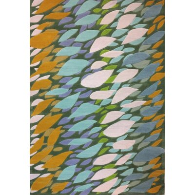 Randal Blue/Green Area Rug Rug Size: 5 x 73