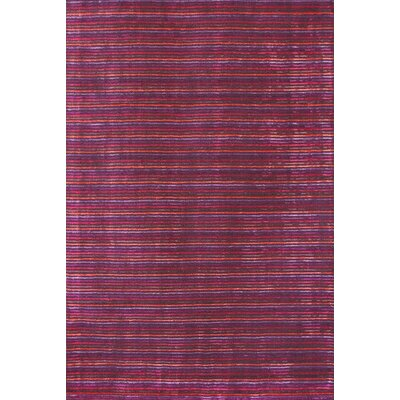 Urban Journey Dark Berry Rug Rug Size: 5 x 73