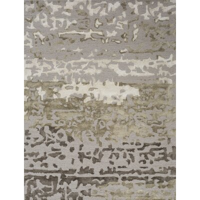 Romain Grey Area Rug Rug Size: 75 x 96