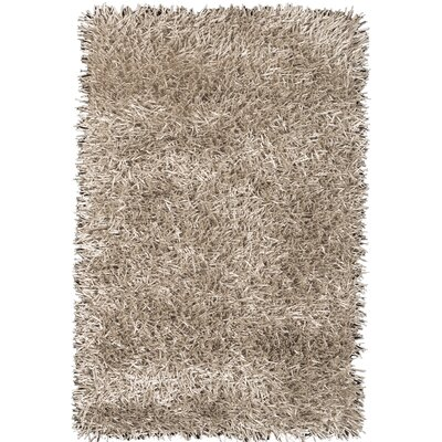 Susie Champagne Area Rug Rug Size: Rectangle 37 x 55